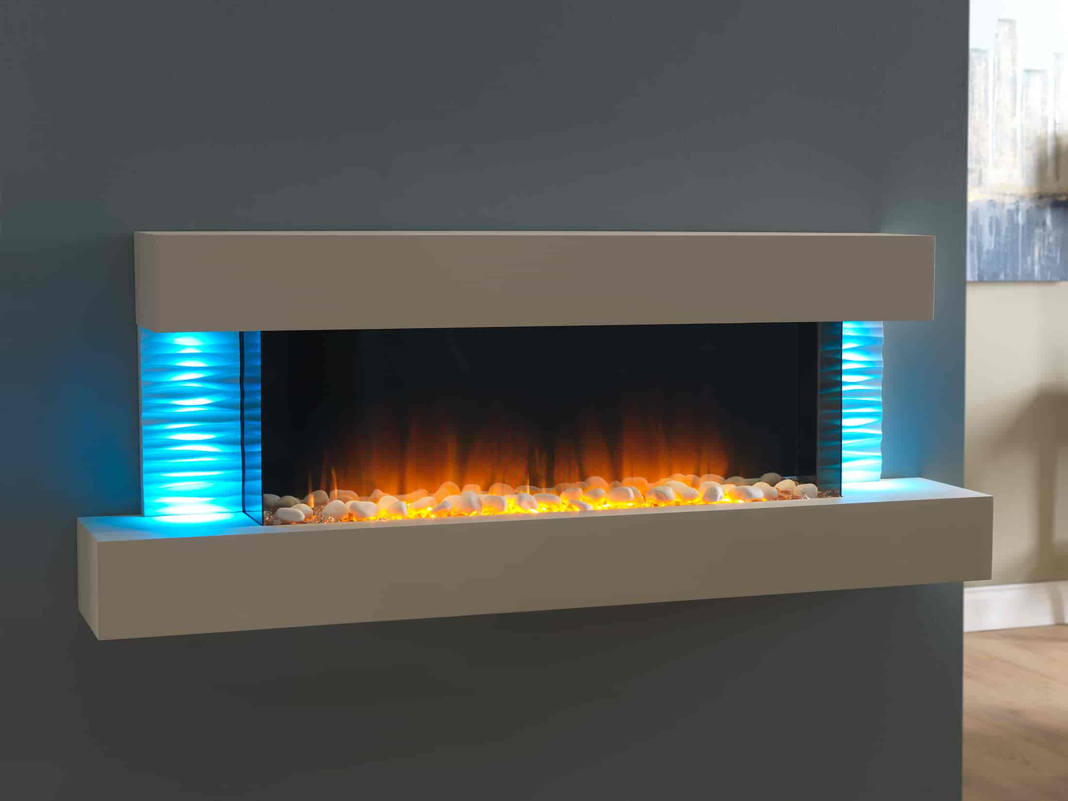 fireplace rocks design crystal fireplaces your blog vs ways stylish glass with rock pebbles to